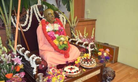 Srila Prabhupada Disappearance Day Celebrations