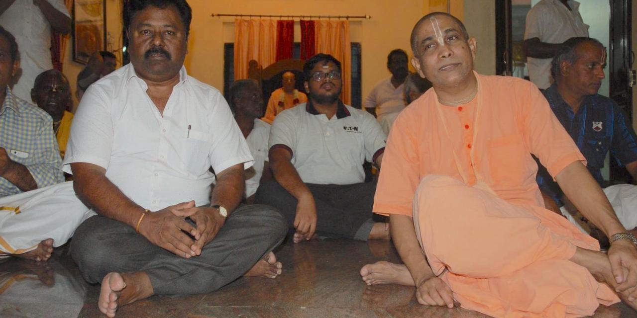 ISKM Puducherry Temple Shifts Premises