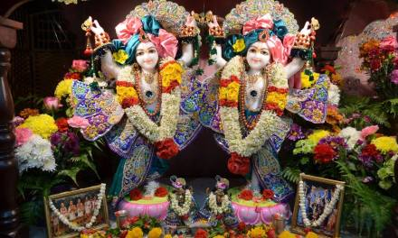 New Gaura-Nitai Deities Installed