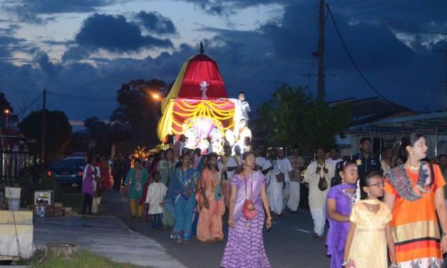 Ratha Yatra in Kota Tinggi, Malaysia