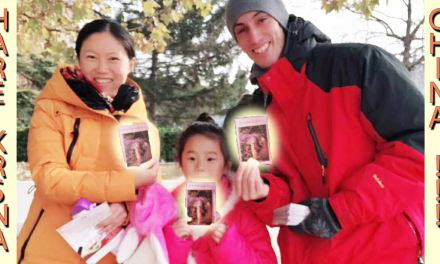 Booklets Distribution & Online Classes in China