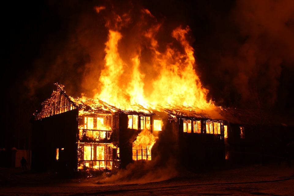 Great The Burning House