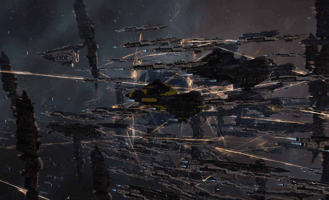 EVE Online Capital Fleet