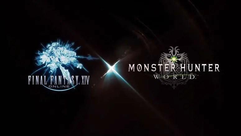 Final-Fantasy XIV Monster Hunter World Collab