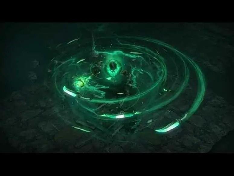 POE Incursion Blade Vortex Inpulsa Clear Speed Build