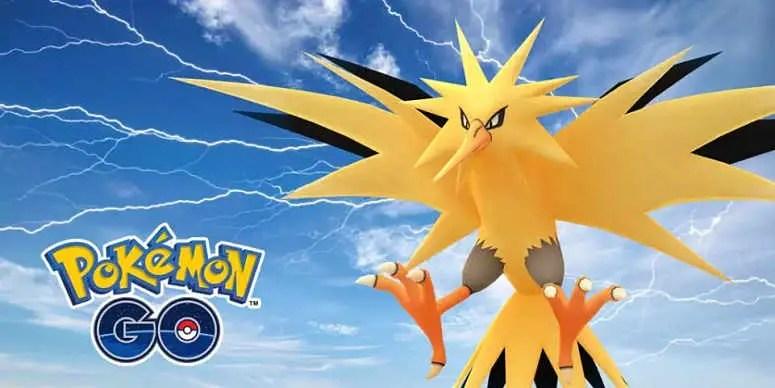 Pokemon Go teases Zapdos raid and Gen 4 roster