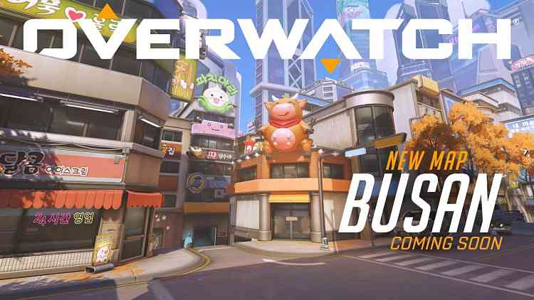 Overwatch Busan Map Reveal
