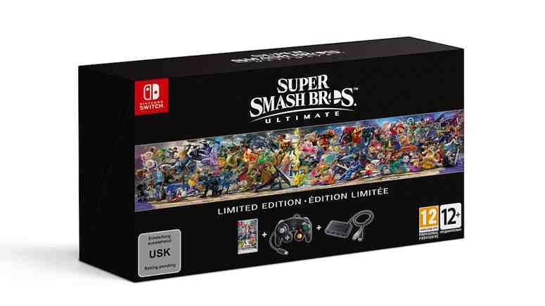 Super Smash Bros. Ultimate Limited Edition Announced