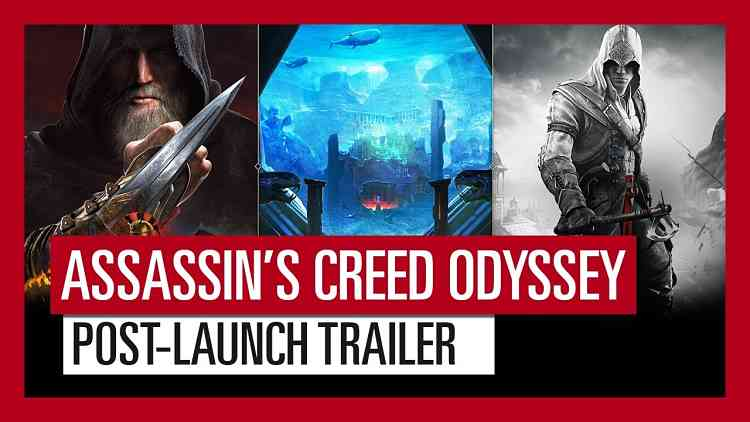 Assassin's Creed Odyssey Post-Launch Trailer