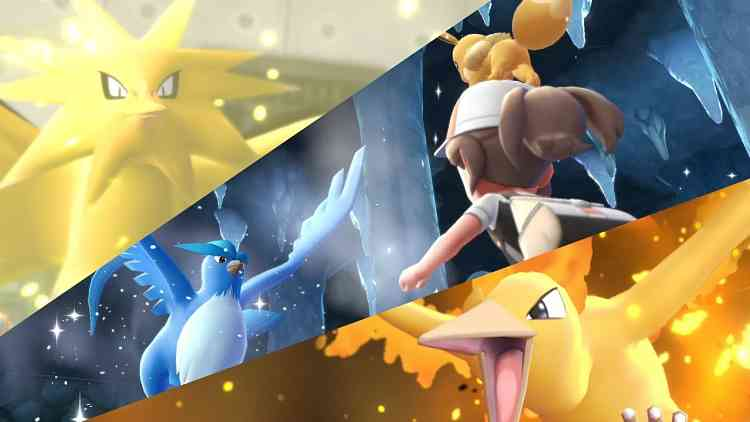 New Pokemon Let's Go trailer shows off Legendary birds and PoGo integration