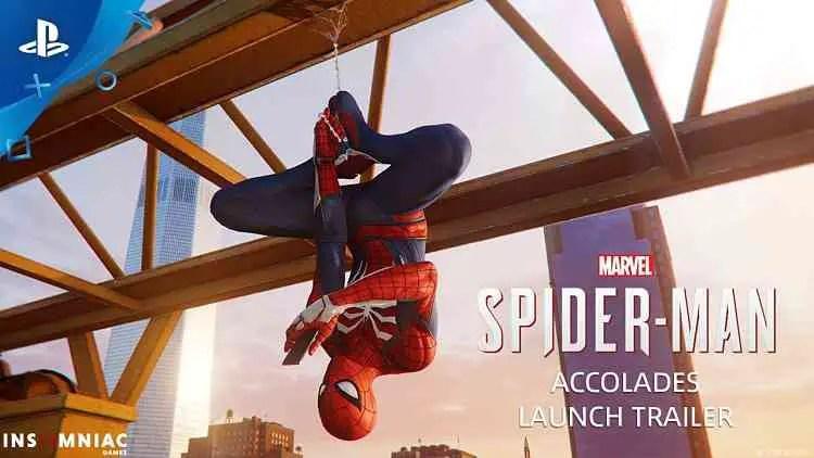 Marvel's Spider-Man Accolades Trailer