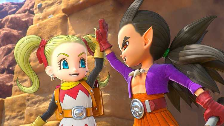 Dragon Quest Builders 2 PS4 Gameplay