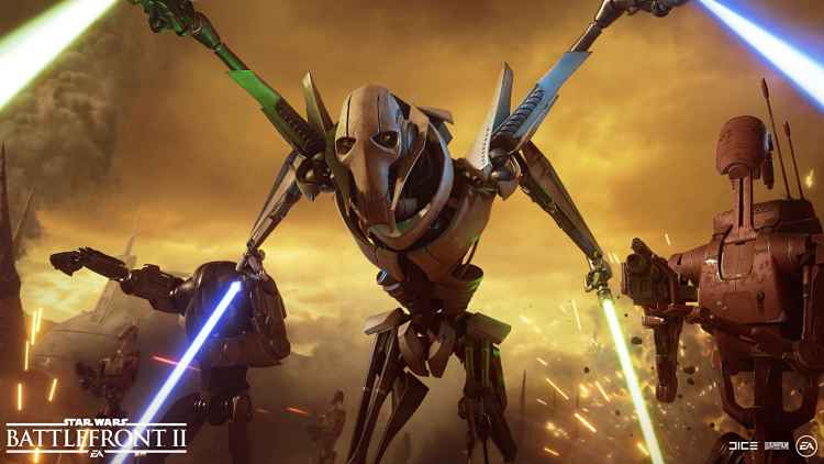 Star Wars Battlefront II Grievous Update