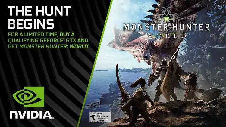 Get Monster Hunter World free on PC