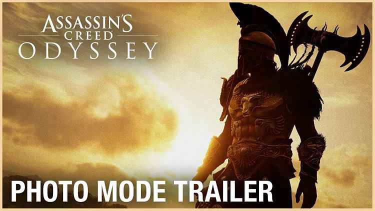 Assassin's Creed Odyssey Photo Mode Trailer