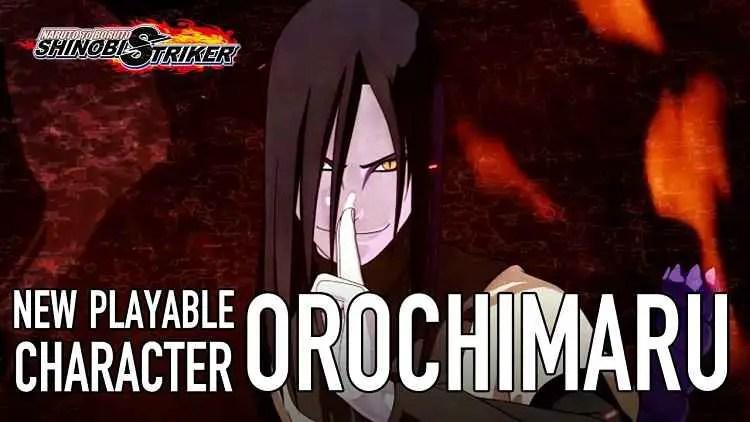 Orochimaru Comes to Naruto to Boruto Shinobi Striker