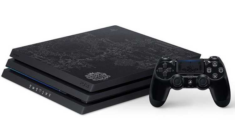There's a PS4 Pro Inspired by Kingdom Hearts 3