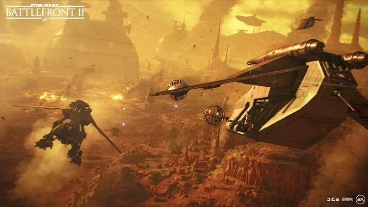 Star Wars Battlefront II Adding Dooku