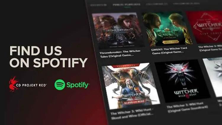 Witcher Soundtracks Now On Spotify