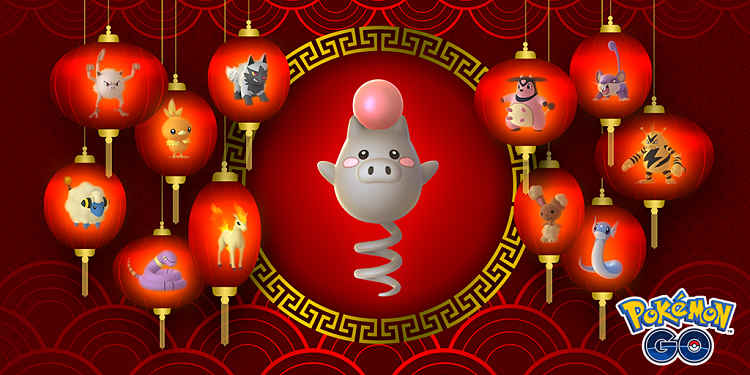 Pokemon Go Kicks off Lunar New Year Events