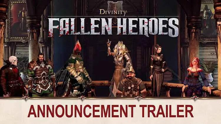 Larian Studios Announces Divinity: Fallen Heroes