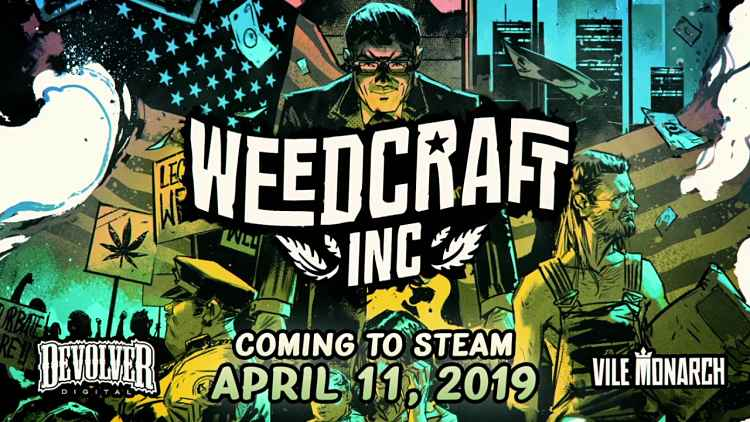 Weedcraft Inc Comes to Steam in April