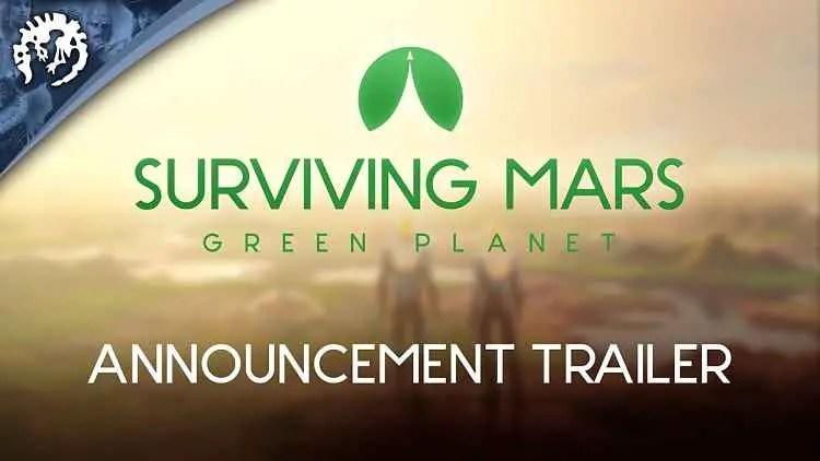 Surviving Mars announces new terraforming expansion