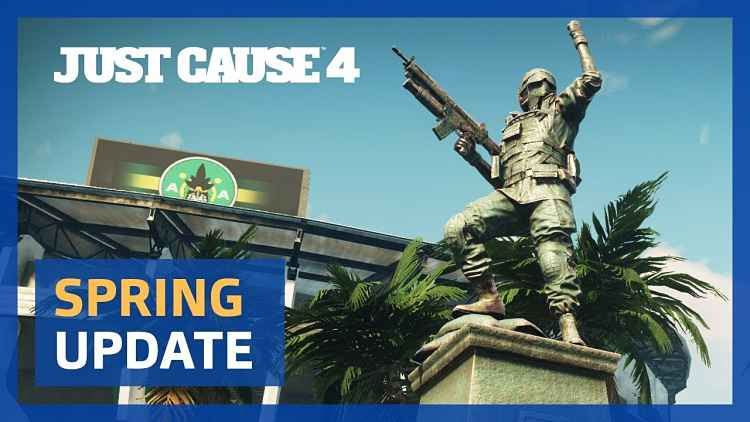 Just Cause 4 gets Spring Update