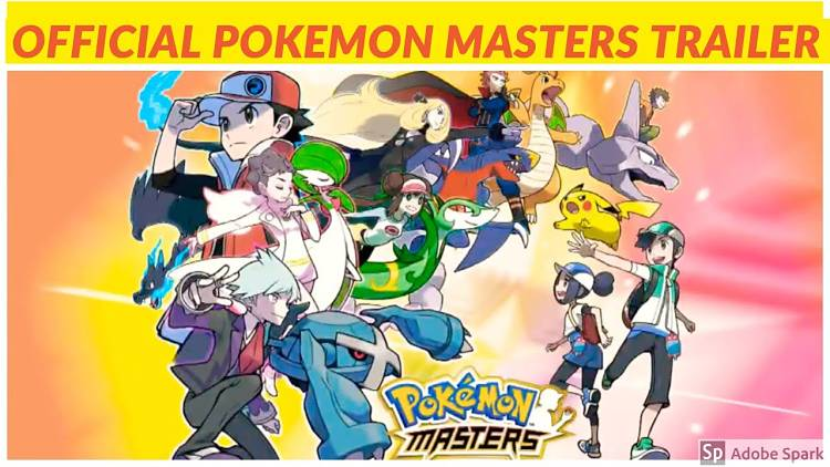 New mobile game, Pokemon Masters, announced
