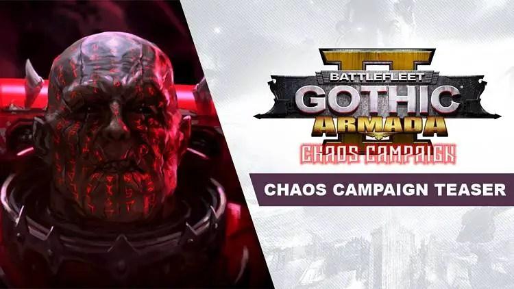 Battlefleet Gothic: Armada 2 Teases Chaos Campaign