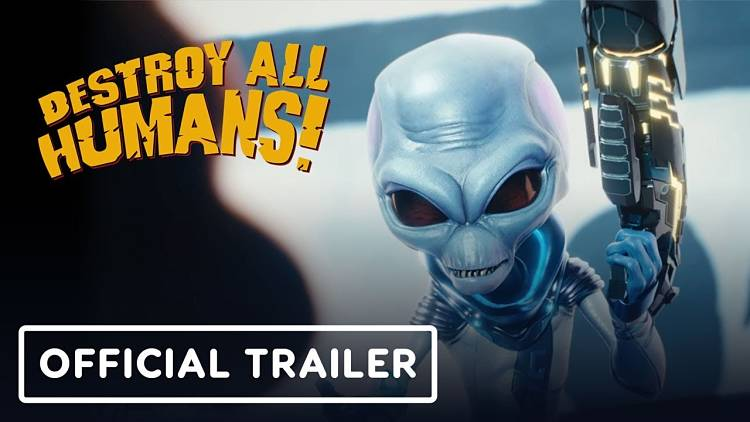 Destroy All Humans! Remake Announced by THQ Nordic