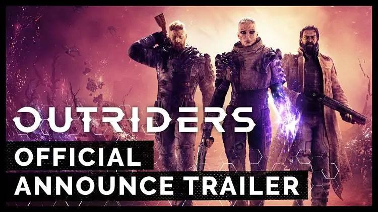 Outriders E3 2019 Announcement Trailer