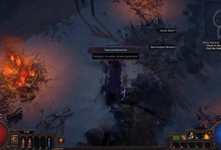 POE Legion Guide Monolith