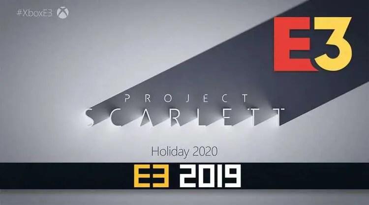 Xbox Project Scarlett E3 2019