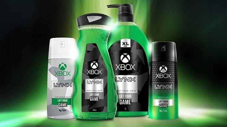 Xbox Announces Branded Body Wash