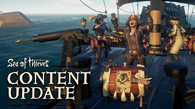 Sea of Thieves Black Powder Stashes are Live