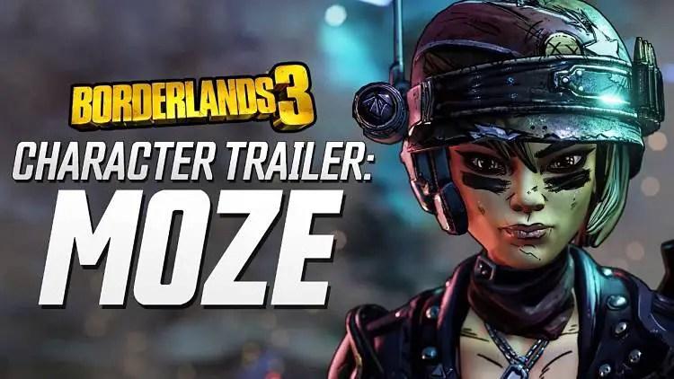 Borderlands 3 Moze Gameplay