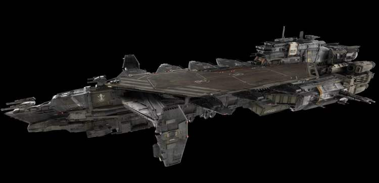 Star Citizen Kraken Carrier