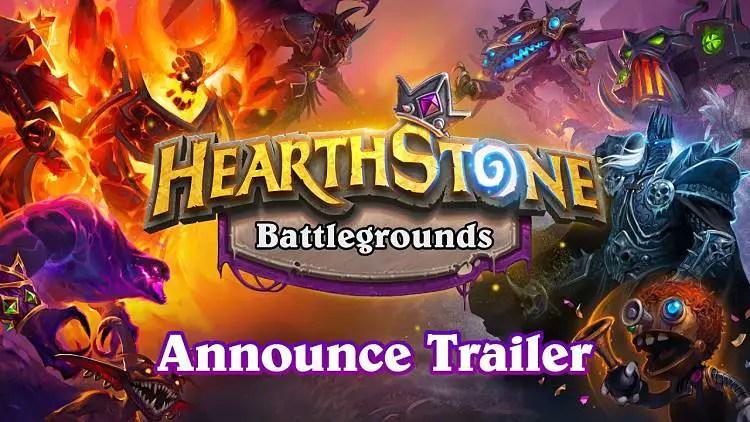 Hearthstone Battlegrounds Expansion Revealed