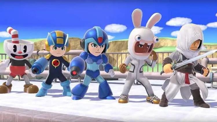 Super Smash Bros. Ultimate Mii Fighters