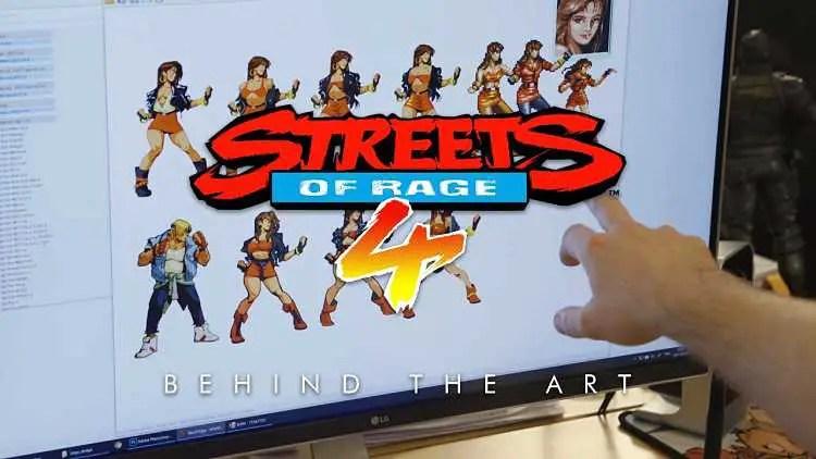 Streets of Rage 4 Art Trailer