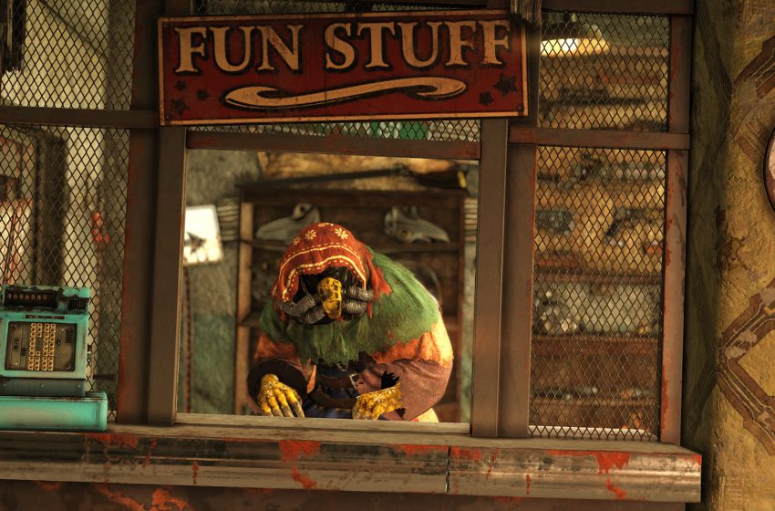 Where is the Purveyor Legendary Vendor in Fallout 76 Wastelanders