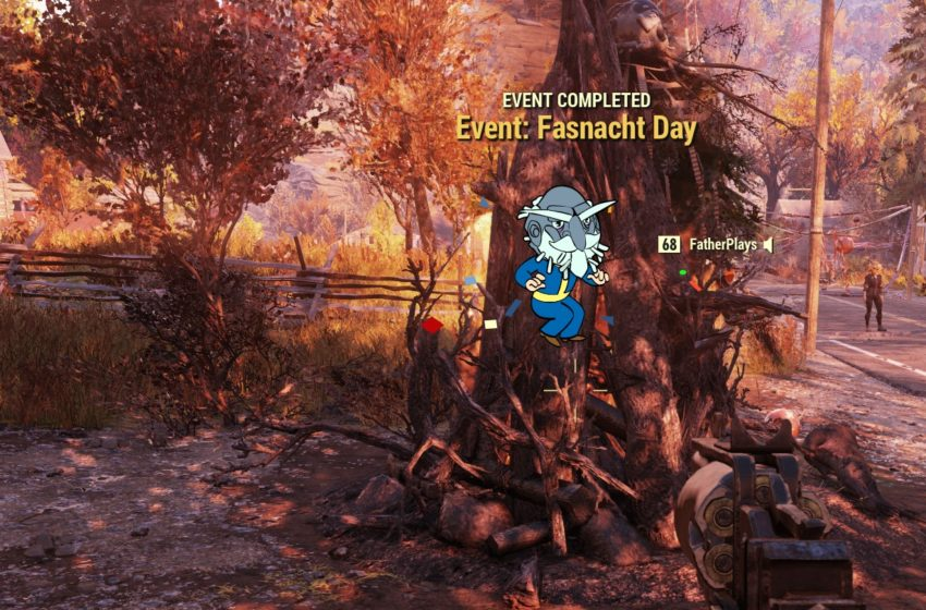 How to get the Fasnacht Day Crazy Guy Mask in Fallout 76