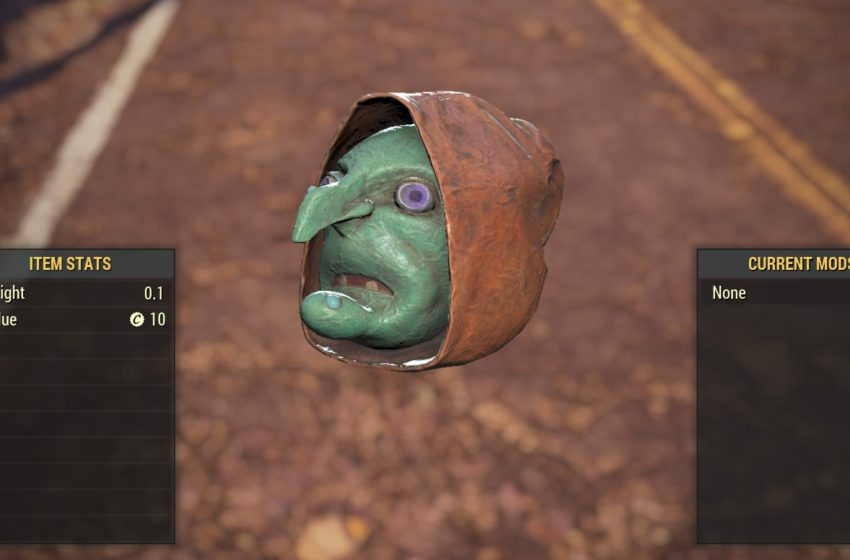 All Fasnacht Day masks in Fallout 76