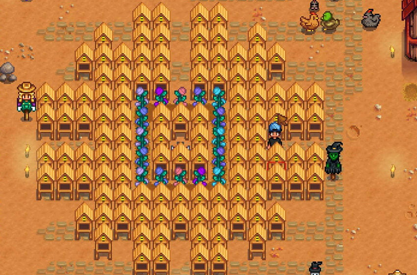 How to get a bee house and honey in Stardew Valley