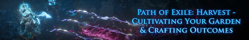 Path of Exile: Harvest Seeds Guide
