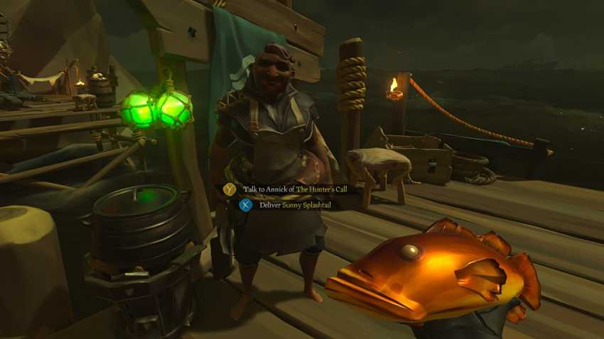 Sea of Thieves Cooking Guide