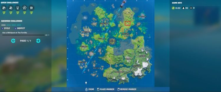 Where is the Orchard in Fortnite Chapter 2 Season 3?