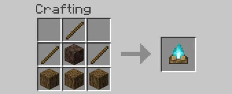 How to make soul campfires in Minecraft's Nether Update