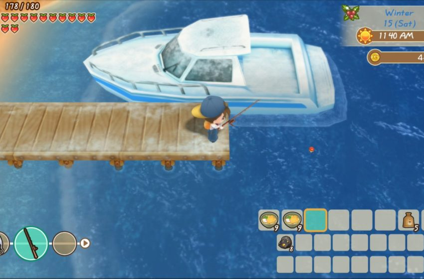 How to get a fishing rod in Story of Seasons: Friends of Mineral Town